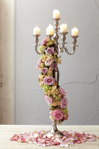 Decoracao-flores-candelabro
