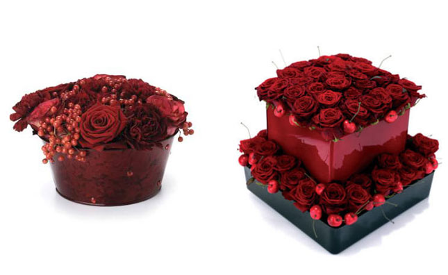 Decoracao-flores-vermelhas