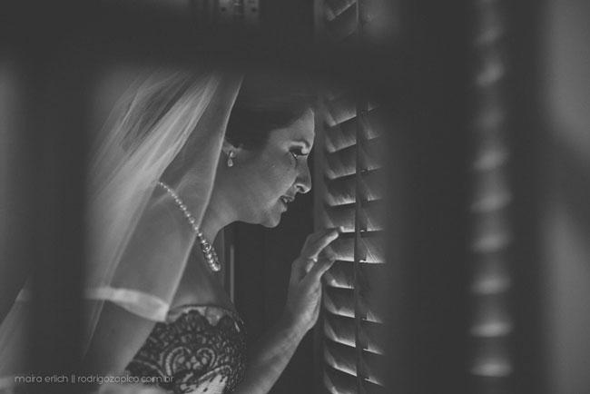 Noiva esperando o casamento