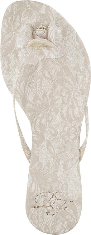 085 slim tecido renda com flor em renda